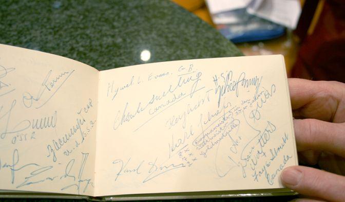 Autogramme (Foto)