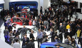Autosalon in Paris beginnt: Autobauer vor harten Zeiten (Foto)
