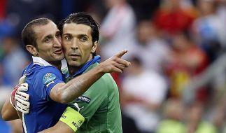 Azzurri feiern grandioses EM-Comeback gegen Spanien (Foto)