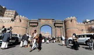 Bab al-Yemen in Sanaa (Foto)