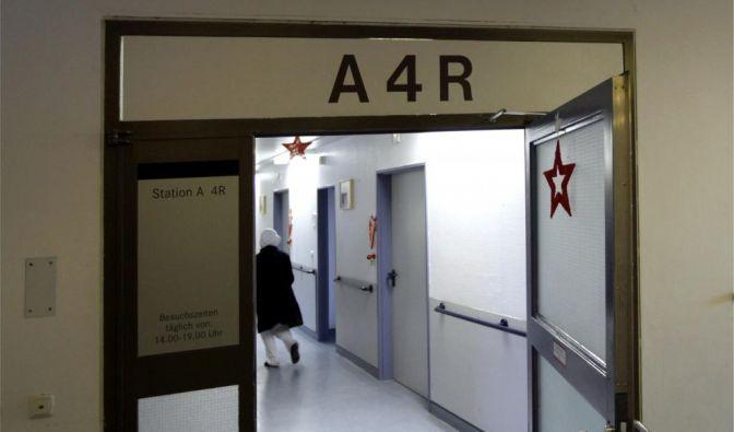 Baby aus Hoechster Krankenhaus entfuehrt (Foto)