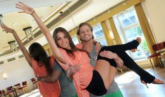 Bachelor Paul Janke mit seiner Tanzpartnerin Ekaterina Leonova. (Foto)