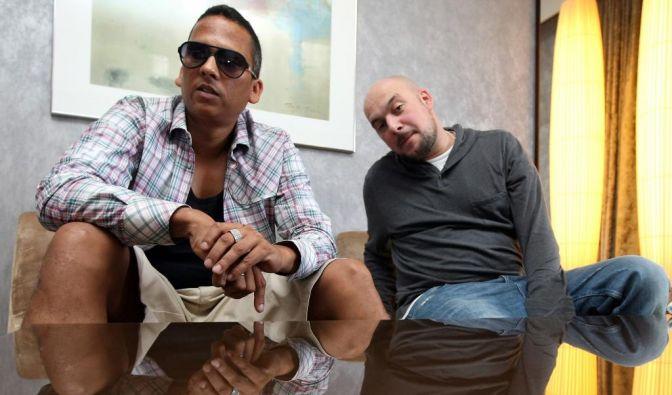 Baden-Württemberg: Der Soul- und RundB-Sänger Xavier Naidoo und Rapper Kool Savas treten als Duo Xavas mit Ich schau nicht mehr zurück an. (Foto)