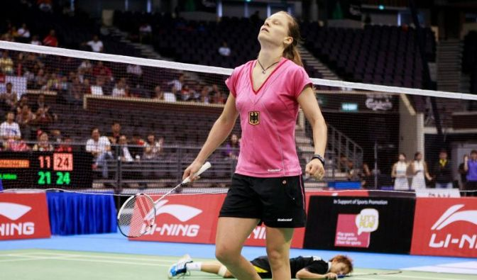 Badminton-Ass Schenk gewinnt Super-Series-Turnier (Foto)