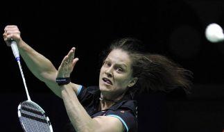 Badminton: Schenk erreicht Halbfinale in Indien (Foto)