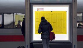 Bahn-Kunden bleiben über Warnstreiks im Ungewissen (Foto)