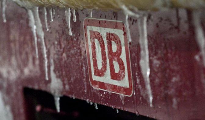 Bahn nicht winterfest (Foto)