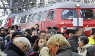 Bahn-Warnstreik: Diese Rechte haben Reisende (Foto)
