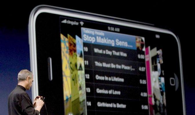 Bahnbrechendes Handy: Das iPhone wird fünf (Foto)