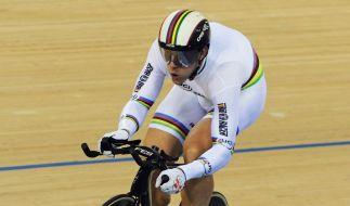 Bahnrad-WM: Sprinter wollen Medaillen und Olympia (Foto)