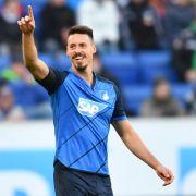 Bald Teil der National-Elf? Hoffenheim-Stürmer Sandro Wagner. (Foto)