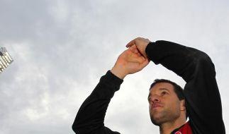 Ballack sagt «Leb wohl» in Leverkusen. Und wohin geht es jetzt? (Foto)