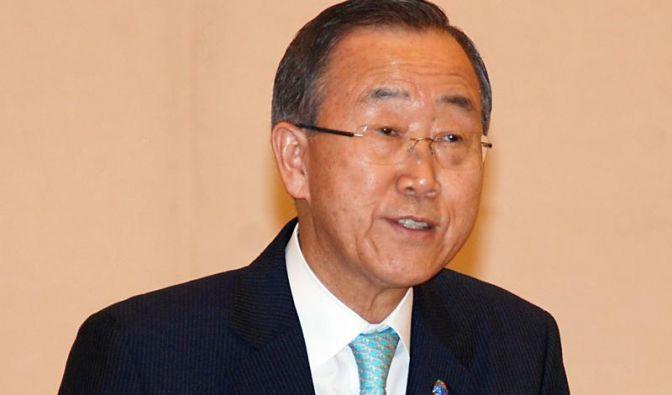 Ban Ki Moon beharrt auf Iran-Besuch (Foto)