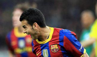 Barça im Fünfer-Takt:Als Erster ins neue Jahr (Foto)