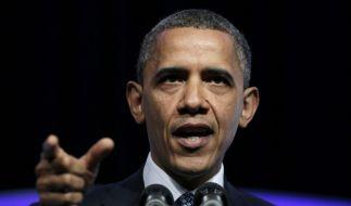 Barack Obama im US-Wahlkampf (Foto)