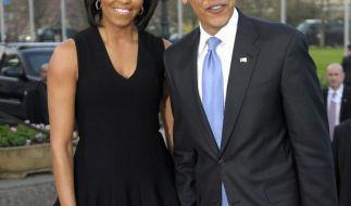 Barack und Michelle Obama (Foto)