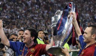 Barcas Ballkünstler gewinnen Champions League (Foto)