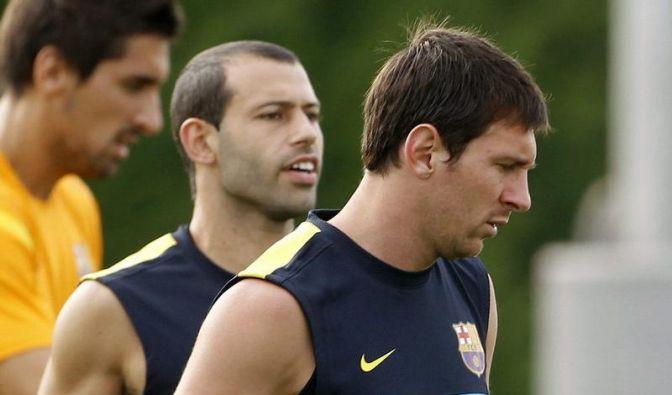 Barcelona ohne verletzten Messi zum Test nach Hamburg (Foto)