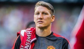 Bastian Schweinsteiger fällt verletzungsbedingt bei ManU aus. (Foto)