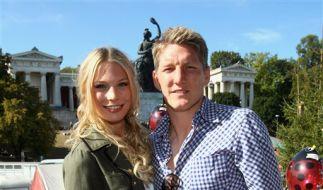 Bastian Schweinsteiger und Sarah Brandner (Foto)