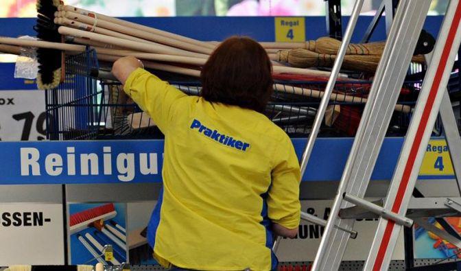 Baumarktkette Praktiker bleibt in roten Zahlen (Foto)