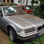 Baumharz sofort vom Auto entfernen (Foto)