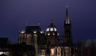 Bauplan des Aachener Doms entschlüsselt - Perfekte Geometrie (Foto)