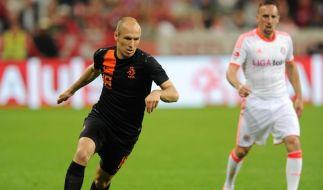 Bayern besiegt Oranje-Team mit 3:2 - Pfiffe gegen Robben (Foto)