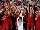 Bayern-Frauen bejubeln Cup-Erfolg: 2:0 gegen Frankfurt (Foto)