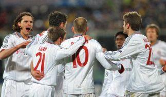 Bayern im Viertelfinale trotz 2:3 in Florenz (Foto)