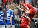 Bayern München gegen Schalke 04 (Foto)