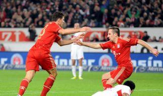 Bayern siegt, Konkurrenz patzt - Freiburg unten (Foto)
