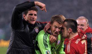 Bayern träumen von drei Titeln - Matchwinner Neuer (Foto)