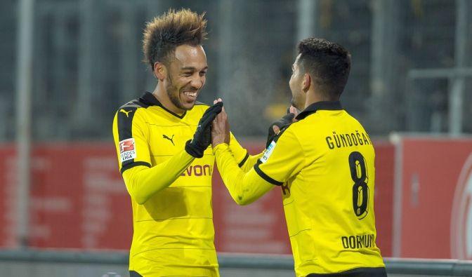 Bayern-Verfolger Dortmund trifft im Rückrunden-Start auf Borussia Mönchengladbach. (Foto)