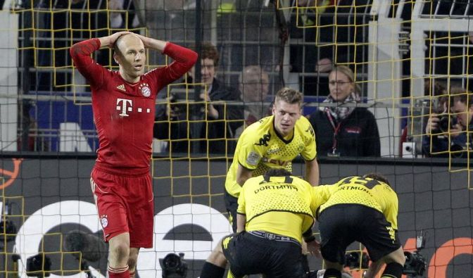 Bayern vs BVB: Elfmeterpech und Brillen-Bruch (Foto)
