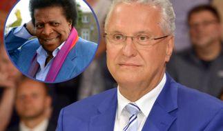"""Bayerns Innenminister Joachim Herrmann (CSU) hat in der ARD-Sendung """"Hart aber Fair"""" den Sänger Roberto Blanco als """"wunderbaren Neger"""" bezeichnet. (Foto)"""