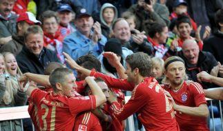 Bayerns Turbostarter überrollen Hertha mit 4:0 (Foto)