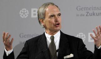 BDI-Präsident Keitel warnt vor den Folgen einer Kreditklemme. (Foto)