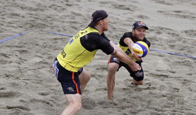 Beachvolleyballer Brink/Reckermann sagen erneut ab (Foto)