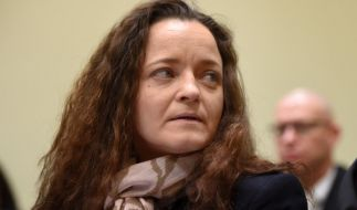 Beate Zschäpe zeigte sich im Gerichtssaal von einer anderen Seite. (Foto)