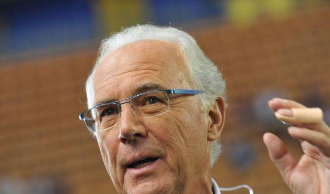 Beckenbauer neuer «Sportbotschafter» Russlands (Foto)