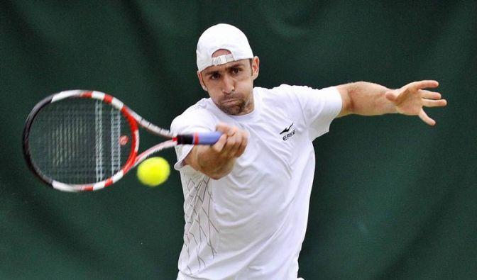 Becker in Newport im Viertelfinale (Foto)