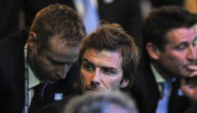 Beckham enttäuscht (Foto)