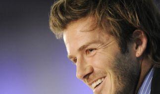 Beckham hofft weiter auf Europa-Engagement (Foto)