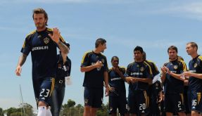 Beckham von Everton-Offerte geschmeichelt (Foto)