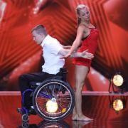 Behinderung behindert nicht - das zeigt die Nummer von Christian und Michelle beim Supertalent eindrucksvoll.