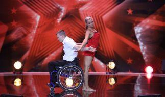 Behinderung behindert nicht - das zeigt die Nummer von Christian und Michelle beim Supertalent eindrucksvoll. (Foto)