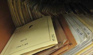 Behörde gibt gesperrte Stasi-Akten frei (Foto)