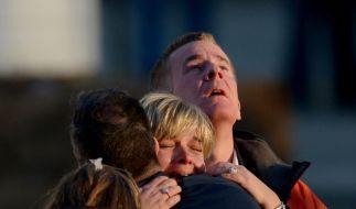 Bei dem bisher schlimmsten Amoklauf an einer US-Schule sind am Freitag 27 Menschen ums Leben gekommen. (Foto)