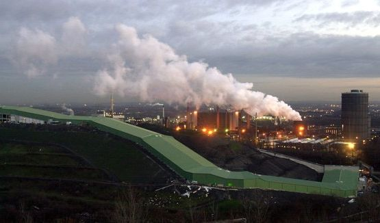 «Bei uns brennt der Baum»: Das Ruhrgebiet zählt zu den Problemregionen Westdeutschlands. (Foto)